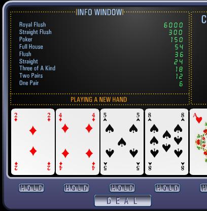 Poker macine