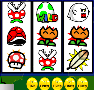 Марио рулетка